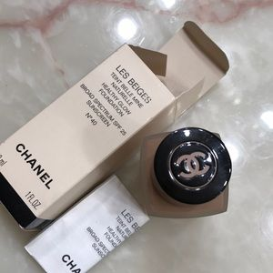 Chanel les beige healthy glow foundation no.40